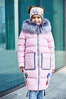 Пальто детское Рейни - Св.розовый №18