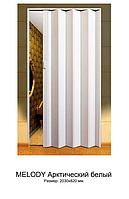 """Двери раздвижные гармошка """"Vinci Dekor Melody"""" Арктический белый оригинал 100% качество"""