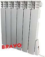 Электрорадиатор BRAVO 6 секций - отопление 12 кв.м