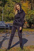 Спортивный костюм женский велюровый теплый  ам312, фото 1