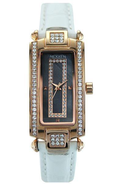 Женские часы Nexxen-12501CL RG/BLK/WHT Белый