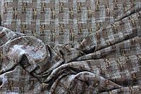 Ткань  софт принт , коричневый тон,  штамп глистера. (фото на ширину 1,5 м)  пог. м., №913, фото 1