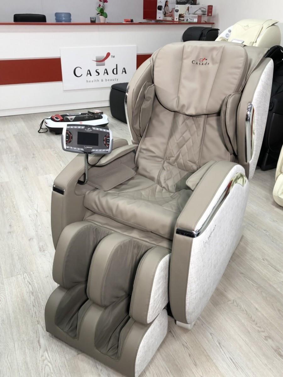 Массажное кресло для дома Hilton III + Braintronics (PLATINUM)