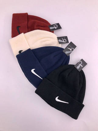 Шапка в стиле Nike зимняя / демисезонная, фото 2