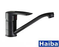 Кухонные смесители Haiba Hansberg 004 Black