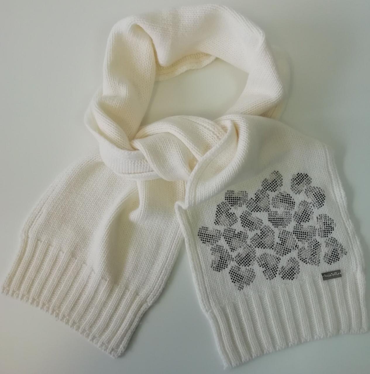 Детский шарф для девочки TRESTELLE Италия T19 503E Бежевый