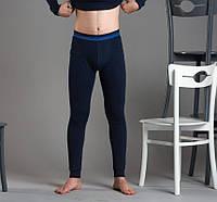 Мужские термокальсоны на манжете со спортивной резинкой Sevim 9118 синий