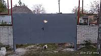 Ворота распашные Standart с вмонтированной калиткой
