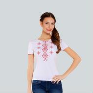 Вышитая женская футболка. Вышиванка женская. Доставка по Киеву и Украине 07023ee58e2df