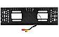 Камера заднего вида рамка 16LED Black с подсветкой в рамке номерного знака, фото 6