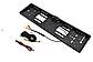 Камера заднего вида рамка 16LED Black с подсветкой в рамке номерного знака, фото 7