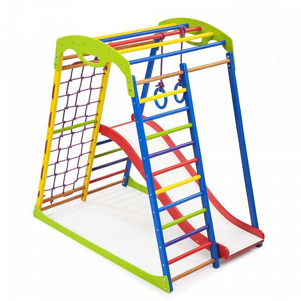 Детский спортивный комплекс для дома SportWood Plus 1 (1)