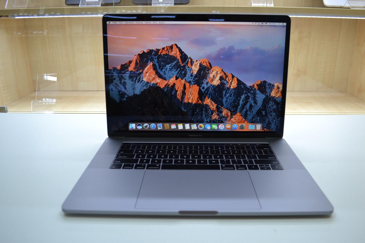Ноутбук Apple Macbook Pro 15.6'Mid-2017 A1707 Touchbar i7 2.8GHz 16GB RAM 512GB SSD Radeon Pro 560Оригинал