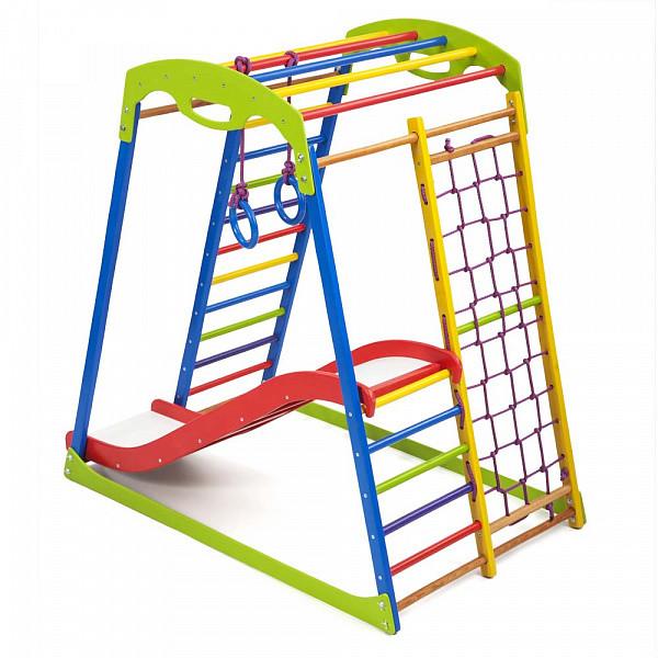 Детский спортивный комплекс для дома SportWood Plus 1 (3)