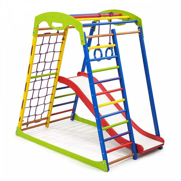 Детский спортивный комплекс для дома SportWood Plus 1 (5)