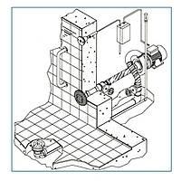 Гидромассаж донный Combi Whirl присоединительный комплект 2,2 кВт, DS Fitstar, фото 1