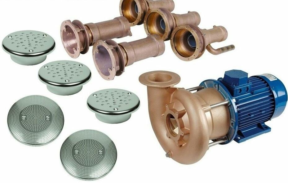 Гидромассаж Combi Whirl 3 присоединительный комплект 4,0 кВт, DS Fitstar
