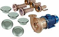 Гидромассаж Combi Whirl 3 присоединительный комплект 4,0 кВт, DS Fitstar, фото 1