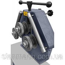 Профилегиб Cormak ERBM35 (Трёхроликовый гибочные станок) \ Профилегибочный станок Кормак ЕРБМ35, фото 3