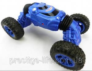 Машинка перевертыш на радиоуправлении Rock Crawler Best Toys RQ2023 Синий