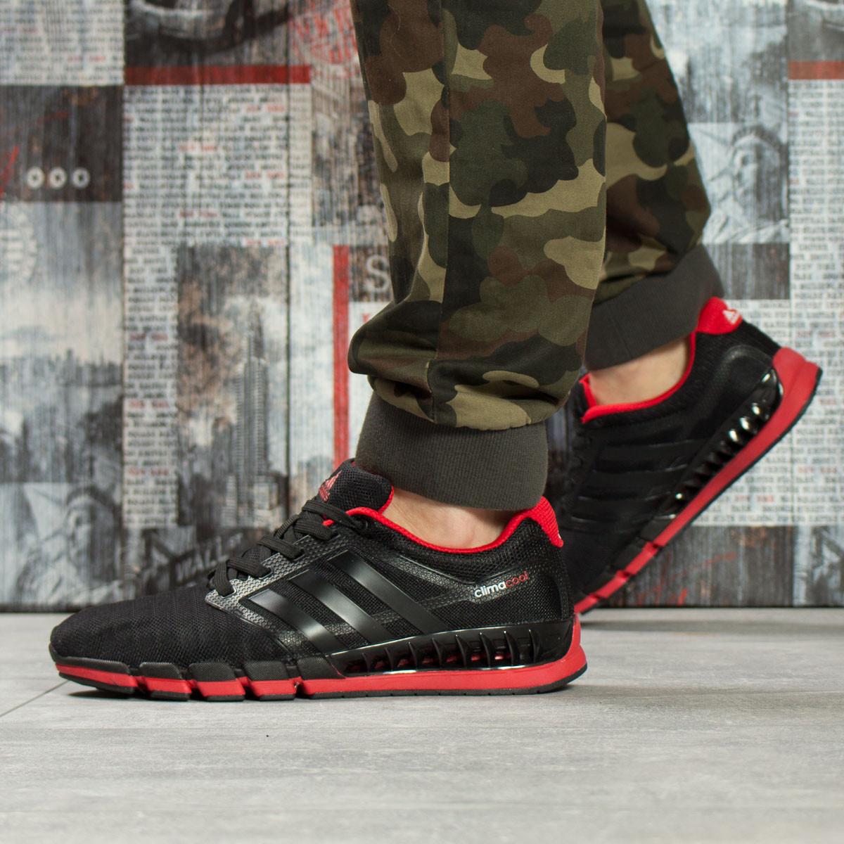 Кроссовки мужские Adidas Climacool, черные (16085) размеры в наличии ► [  45 (последняя пара)  ]
