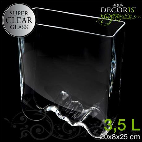 Аквариум Aquael 243627 Aqua Decoris Welle аквариум волна 3,5л