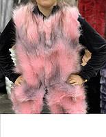 Жилетка женская Эко мех рр С. М. Л цвета в ассортименте, фото 1