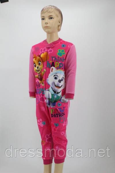 Піжама-комбінезон для дівчинки Paw Patrol 3-8 років