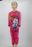 Пижама-комбинезон для девочки Paw Patrol 3-8 лет