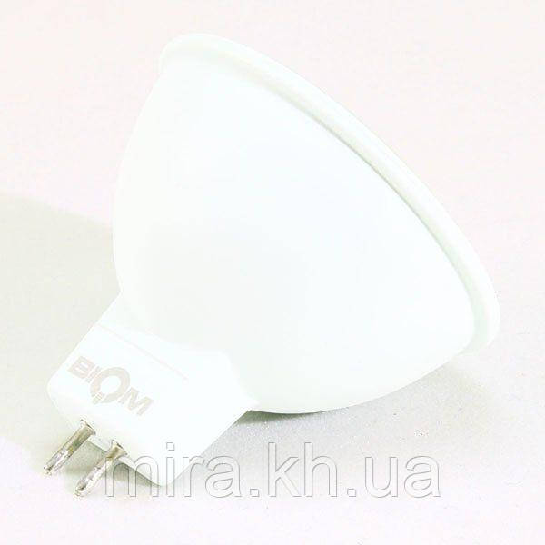 Светодиодная лампа Biom BT-561 MR16 7W GU5.3 3000К матовая