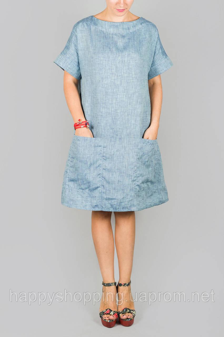 Платье с карманами HooS