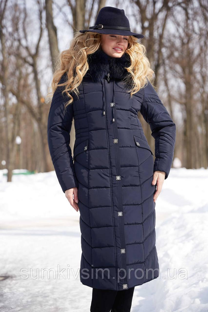 Пальто Дайкири 2 - Т.синий АС11