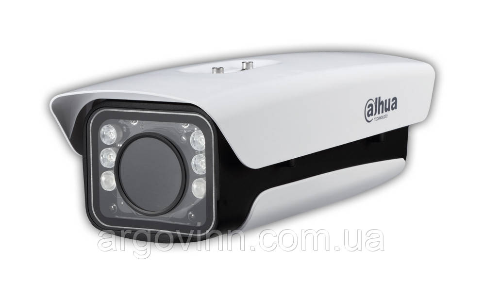 Циліндрична IP відеокамера для розпізнання автомобільних номерів Dahua DH-ITC237-PU1B-IR