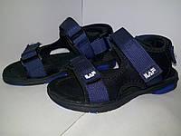 Детские сандали, летняя обувь для мальчика, босоножки синие