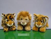 Животные сафари-3 вида (25см)
