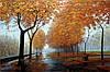 Картина природы Осенний пейзаж для интерьера