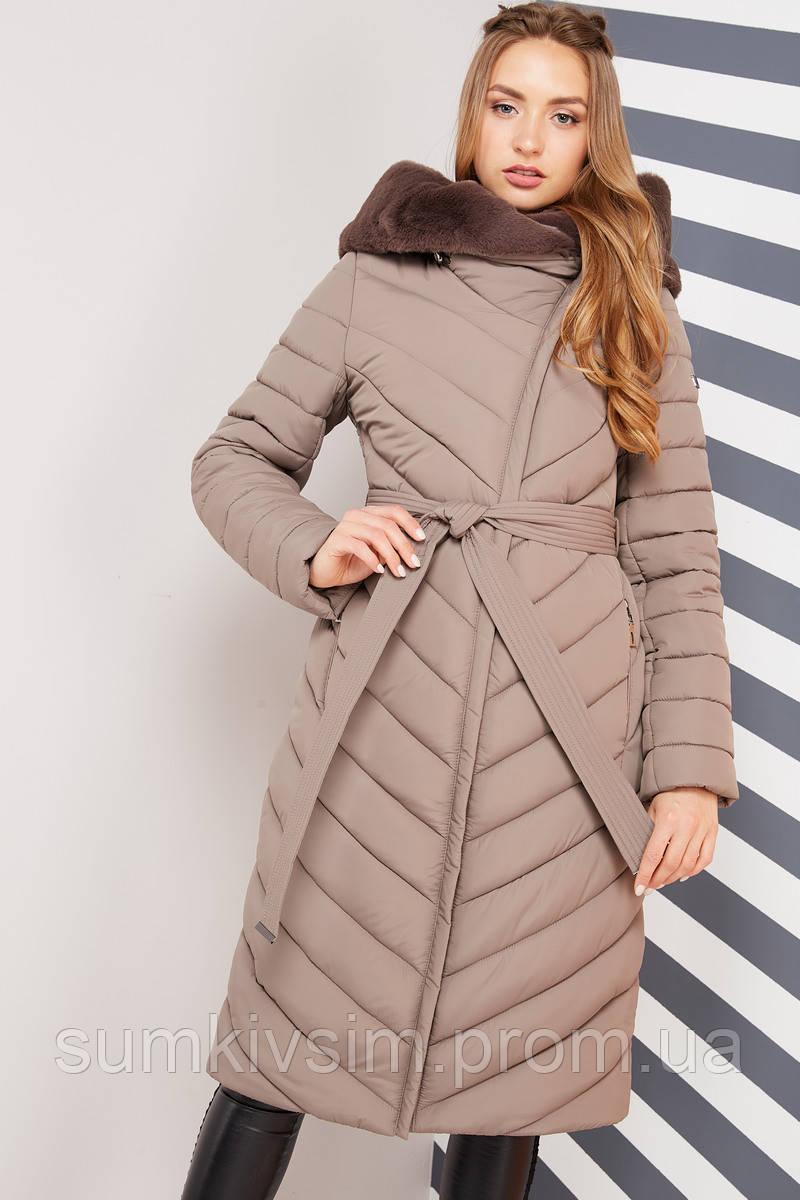 Пальто Фелиция 2 - капучино №578