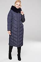 Пальто Амаретта - Т.синий №91, фото 1