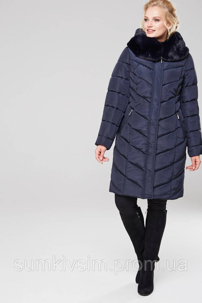 Пальто Амаретта 3 - Т.синий АС11