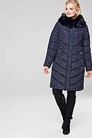 Пальто Амаретта 3 - Т.синий АС11, фото 1