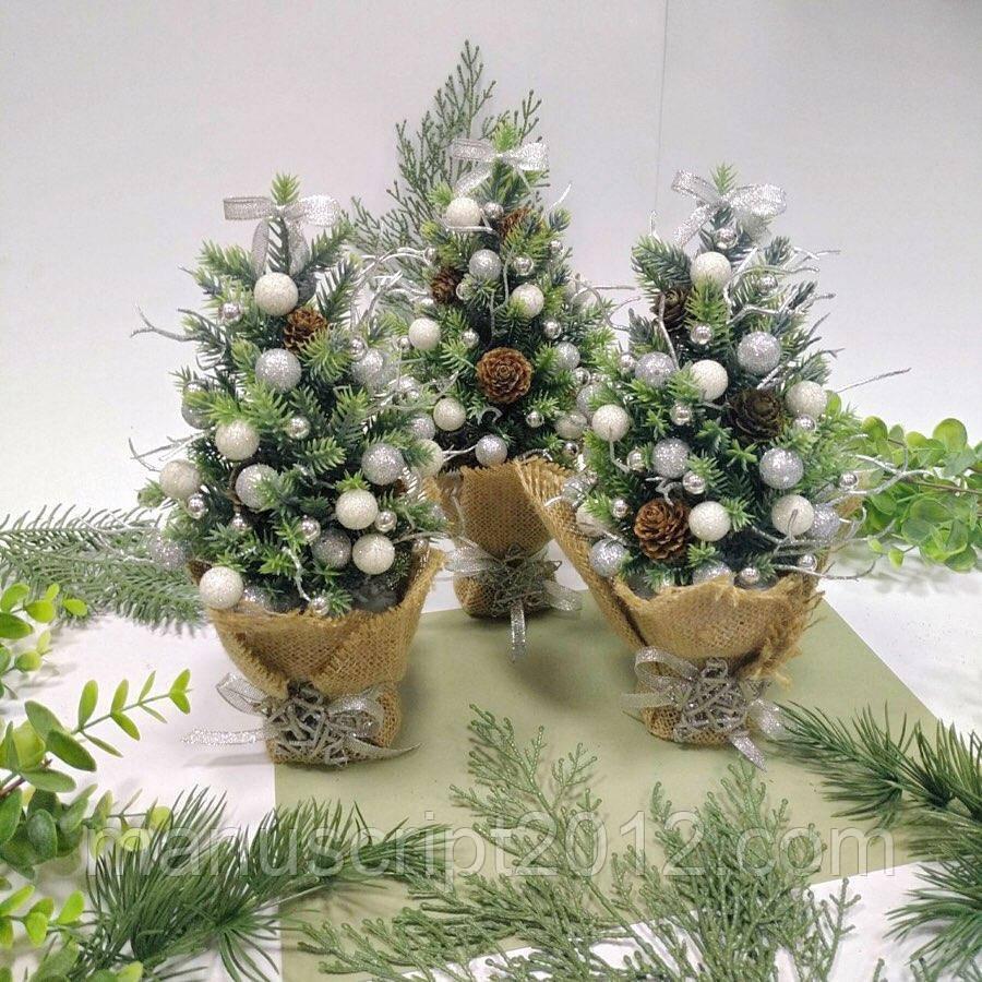 Декоративная елка 26 см.