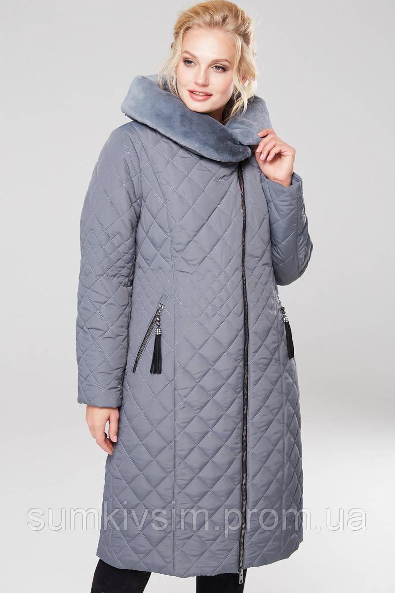Пальто Камалия - Серый №14