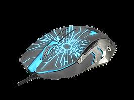 Оптическая игровая мышь Б/У Fury Gladiator (6 кнопок, 3200 dpi, подсветка)