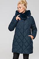 Куртка Валенсия - Т.мор.волн.№19-4021