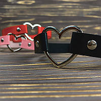 ● Чокер с сердечком на заклёпках ●