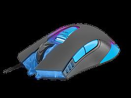 Оптическая игровая мышь Б/У Fury Predator (6 кнопок, 4800 dpi, подсветка)