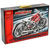 Конструктор Decool Мотоцикл 378 деталей в коробке, фото 3