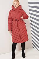 Пальто Фелиция - марсалла, фото 1