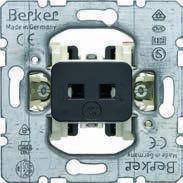 Кнопочний выключатель hotelcard, 1НВ, 2А/250В (механизм) Berker, фото 1