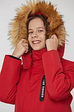 Теплая зимняя подростковая куртка, фото 3